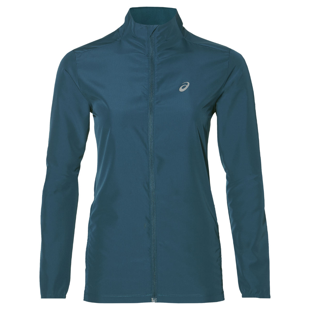 Veste Femme Asics - Medium Blue Steel Vestes de running coupe-vent