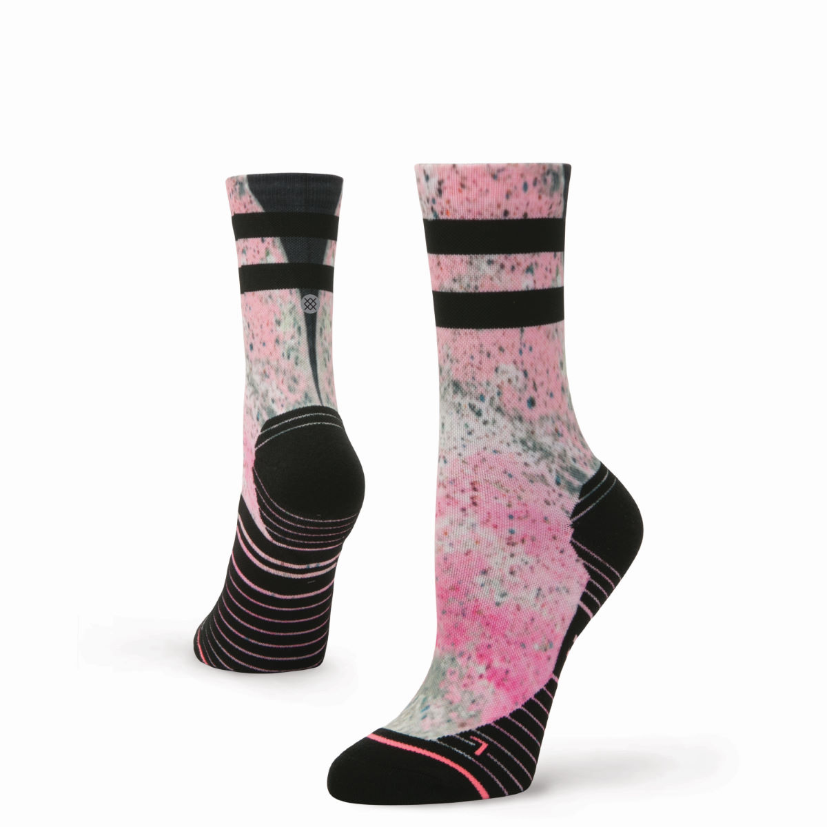 Chaussettes Stance Recovery Crew - S Rose Chaussettes de running