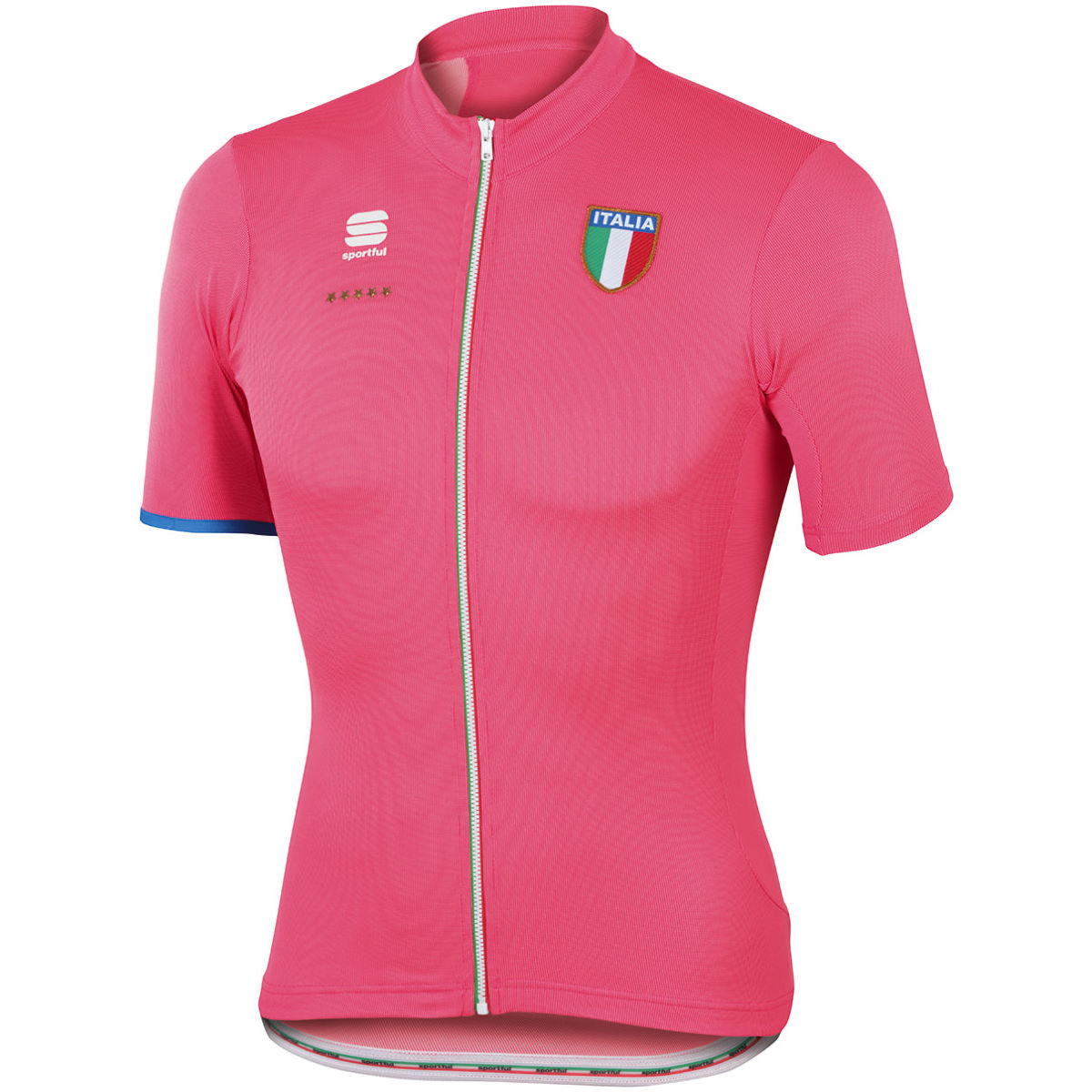 Maillot Sportful Italia CL - S Rose Maillots vélo à manches courtes