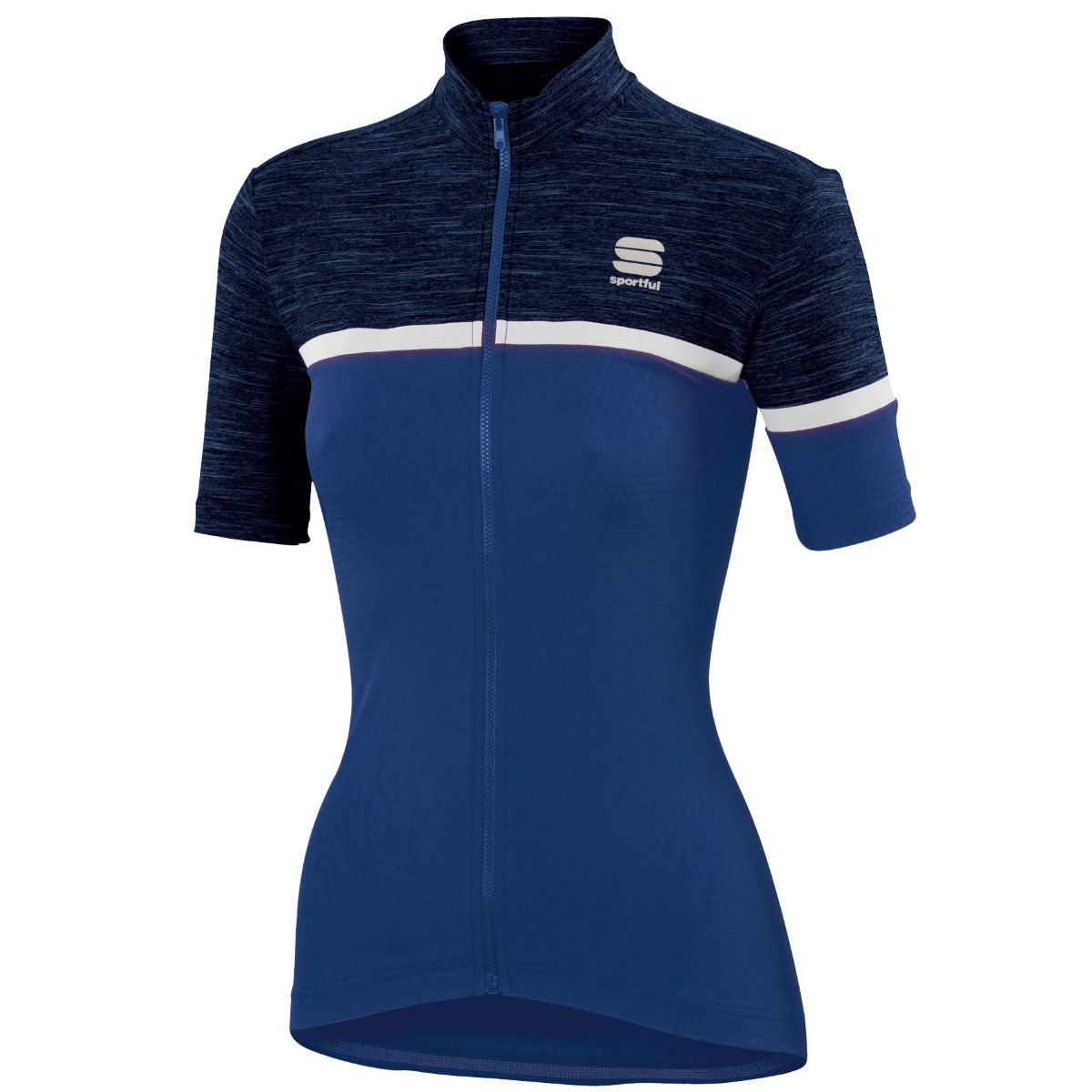 Maillot Femme Sportful Giara - L Blue Twilight/White Maillots