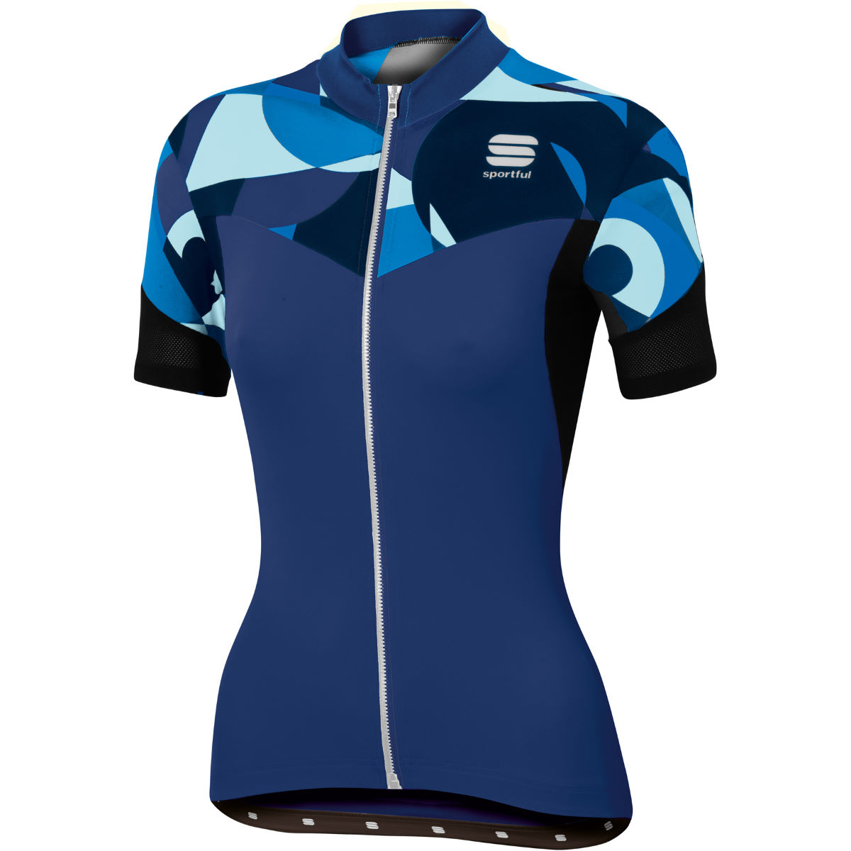 Maillot Femme Sportful Primavera - XL Blue Twilight/Electr Maillots