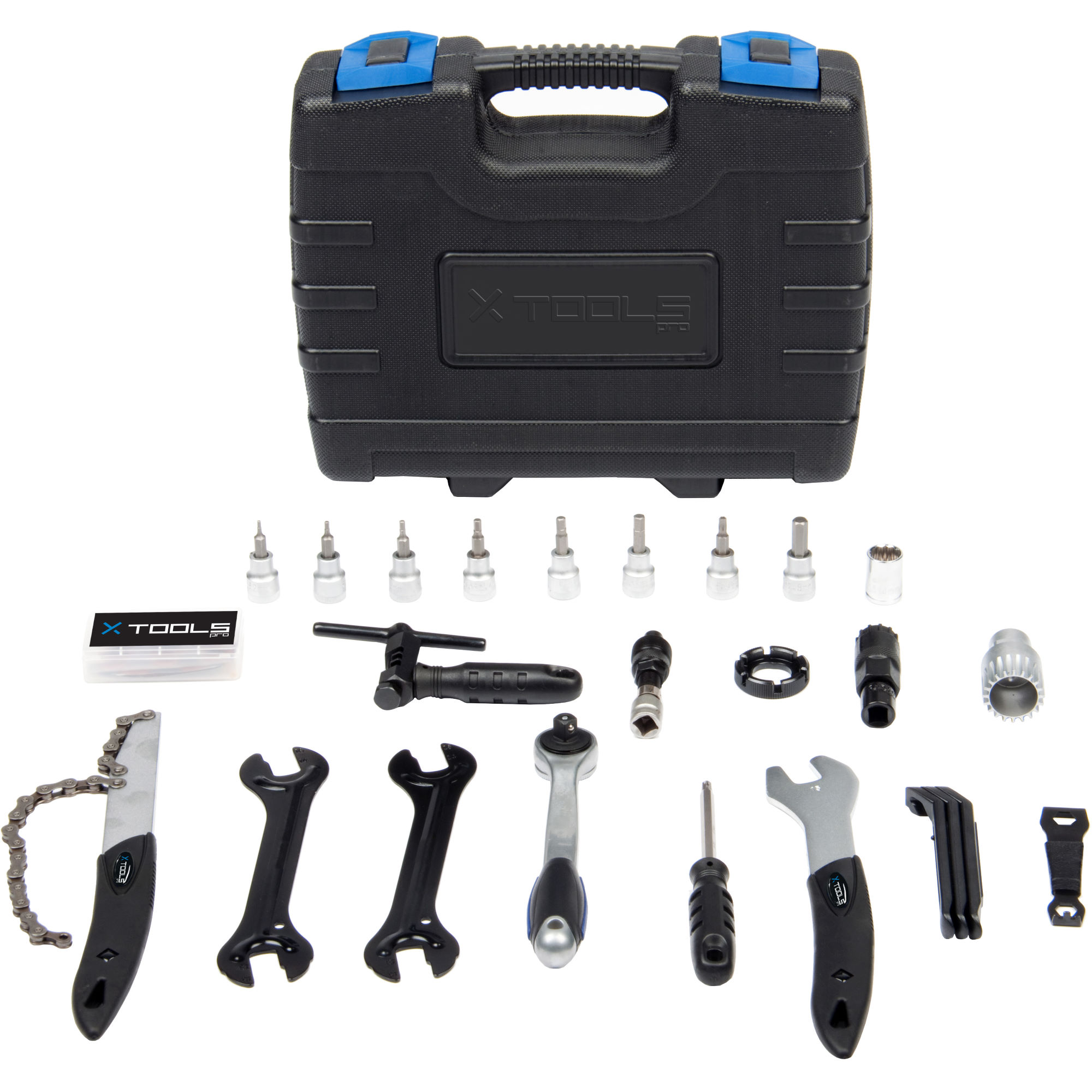 Outillage x tools bike tool kit 27 piece one size wiggle france - Boite a outils velo ...