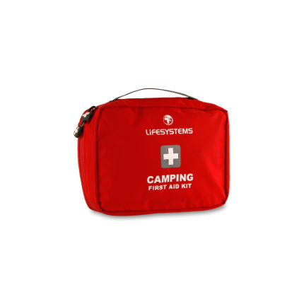 Lifeventure Camping First Aid Kit Red One Size