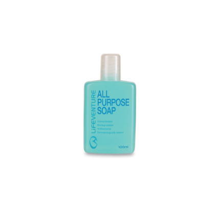 Lifeventure All Purpose Soap 100ml Blue One Size