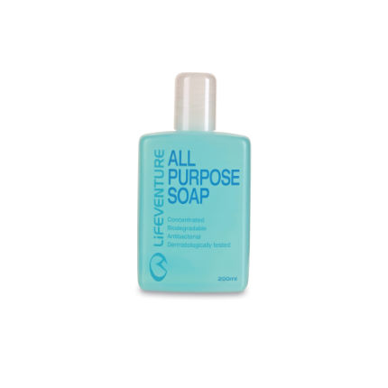 Lifeventure All Purpose Soap 200ml Blue One Size