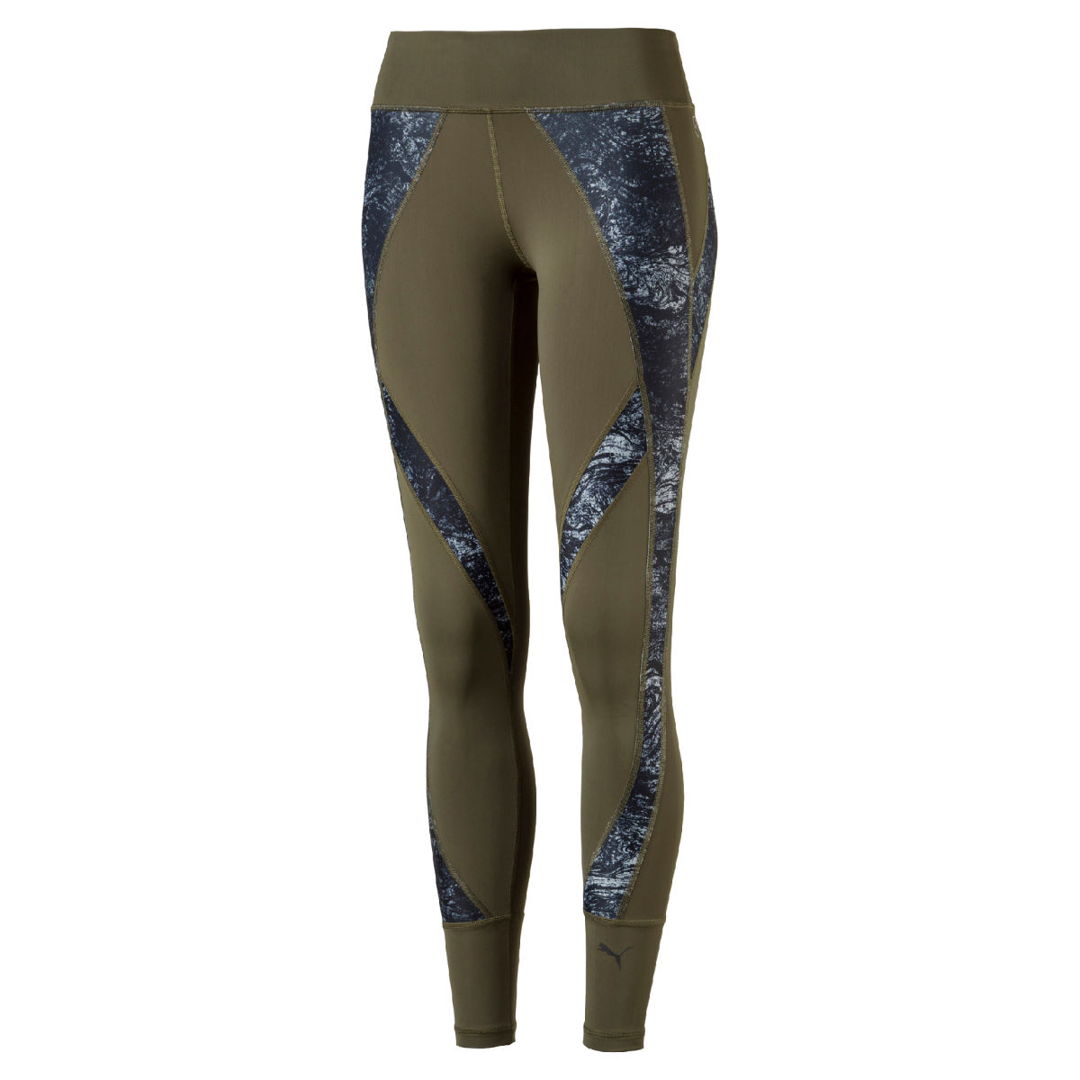 Puma Women's Explosive Gym Tight - L Olive Night-nature p