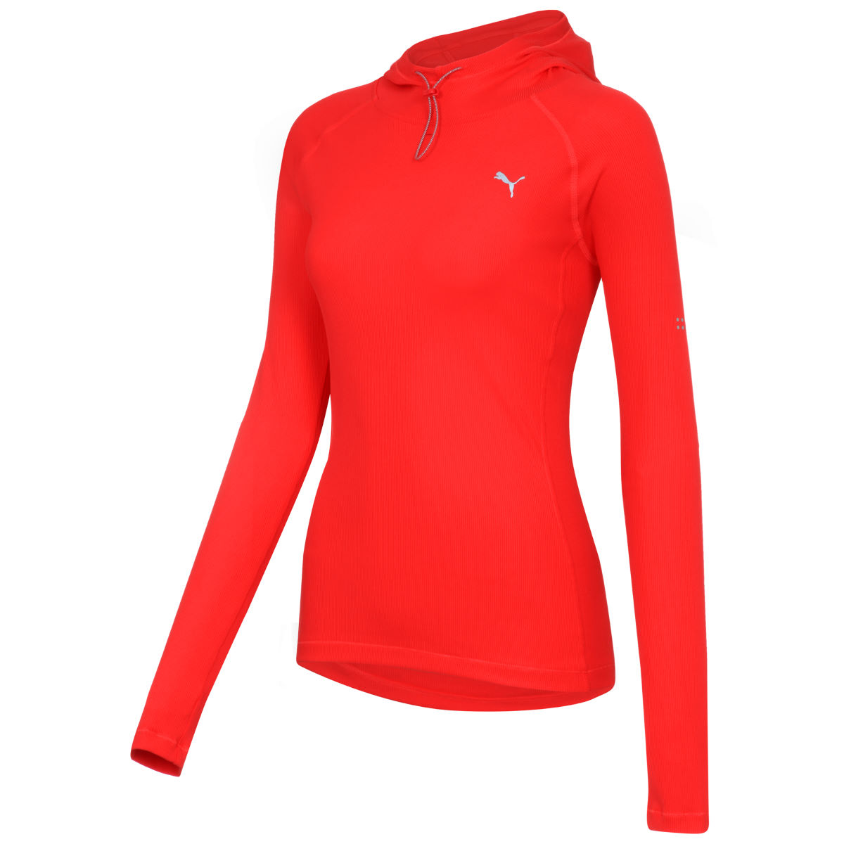Maillot Femme Puma Run (capuche) - XL Poppy Red