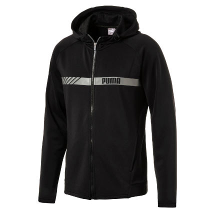 Puma Active Tec Stretch Full Zip Gym Hoody