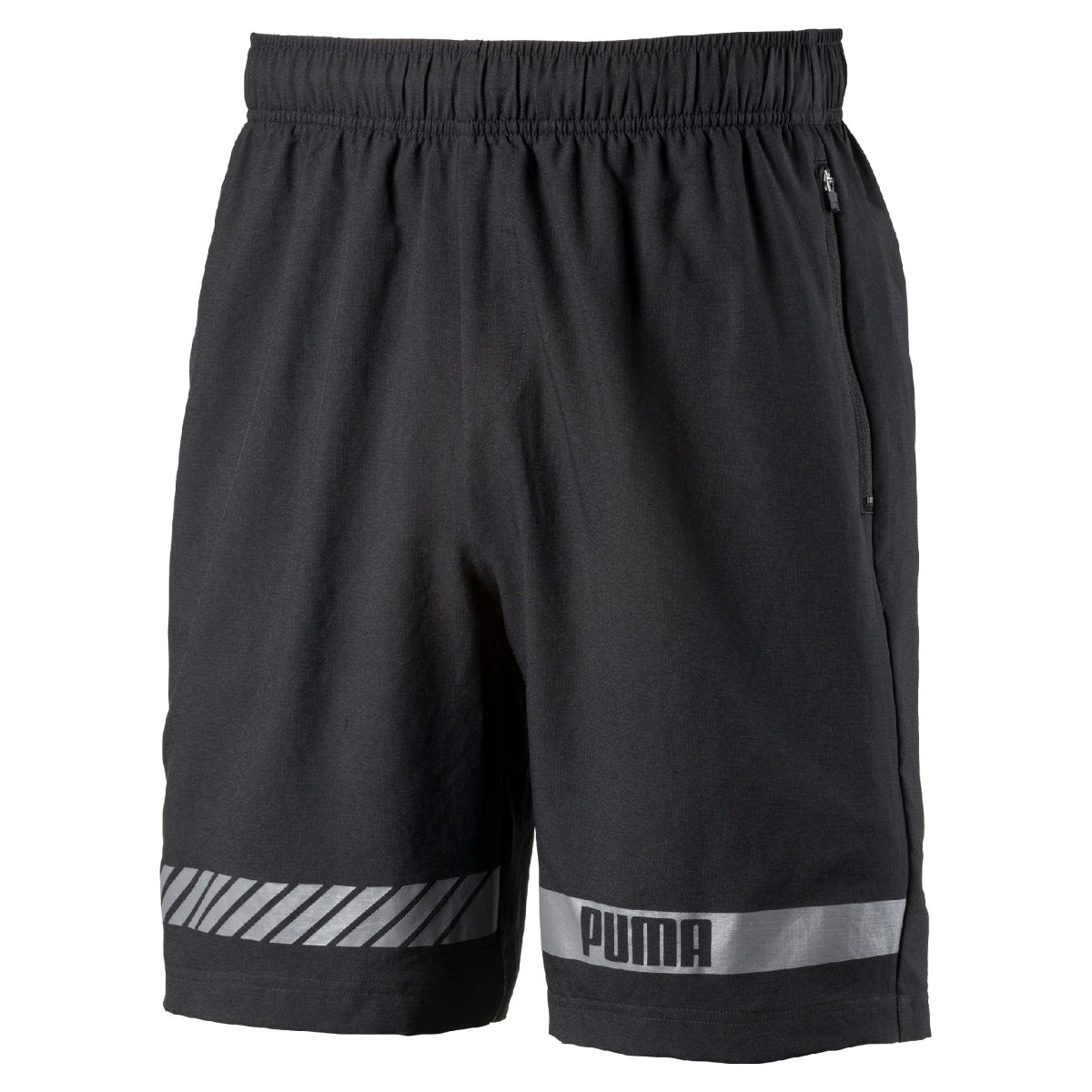 Short de gym Femme Puma Active Tec (tissé) - S Puma Black-Quiet Sha