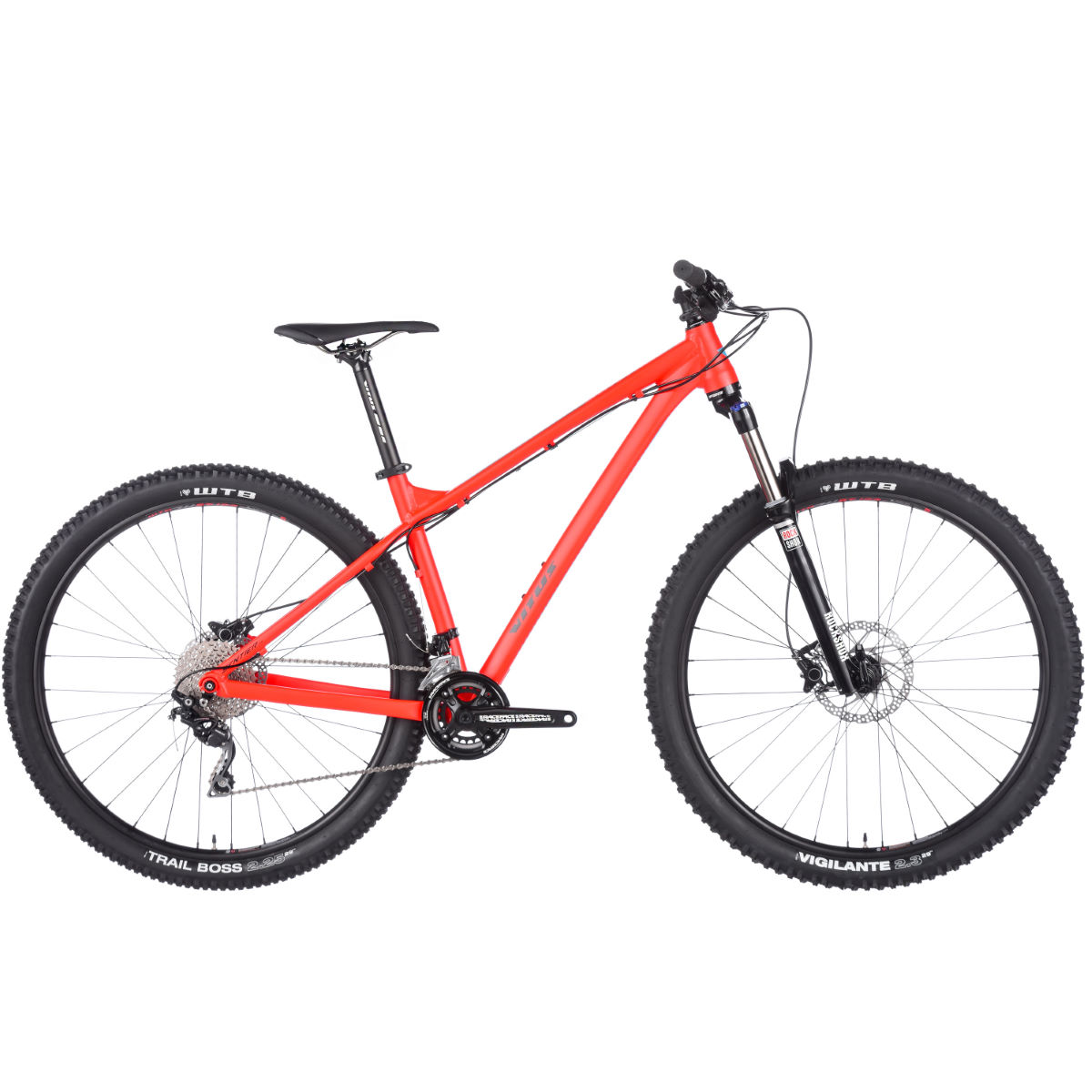 VTT Vitus Sentier 29 (2017) - Medium Stock Bike Red/Green VTT semi-rigides