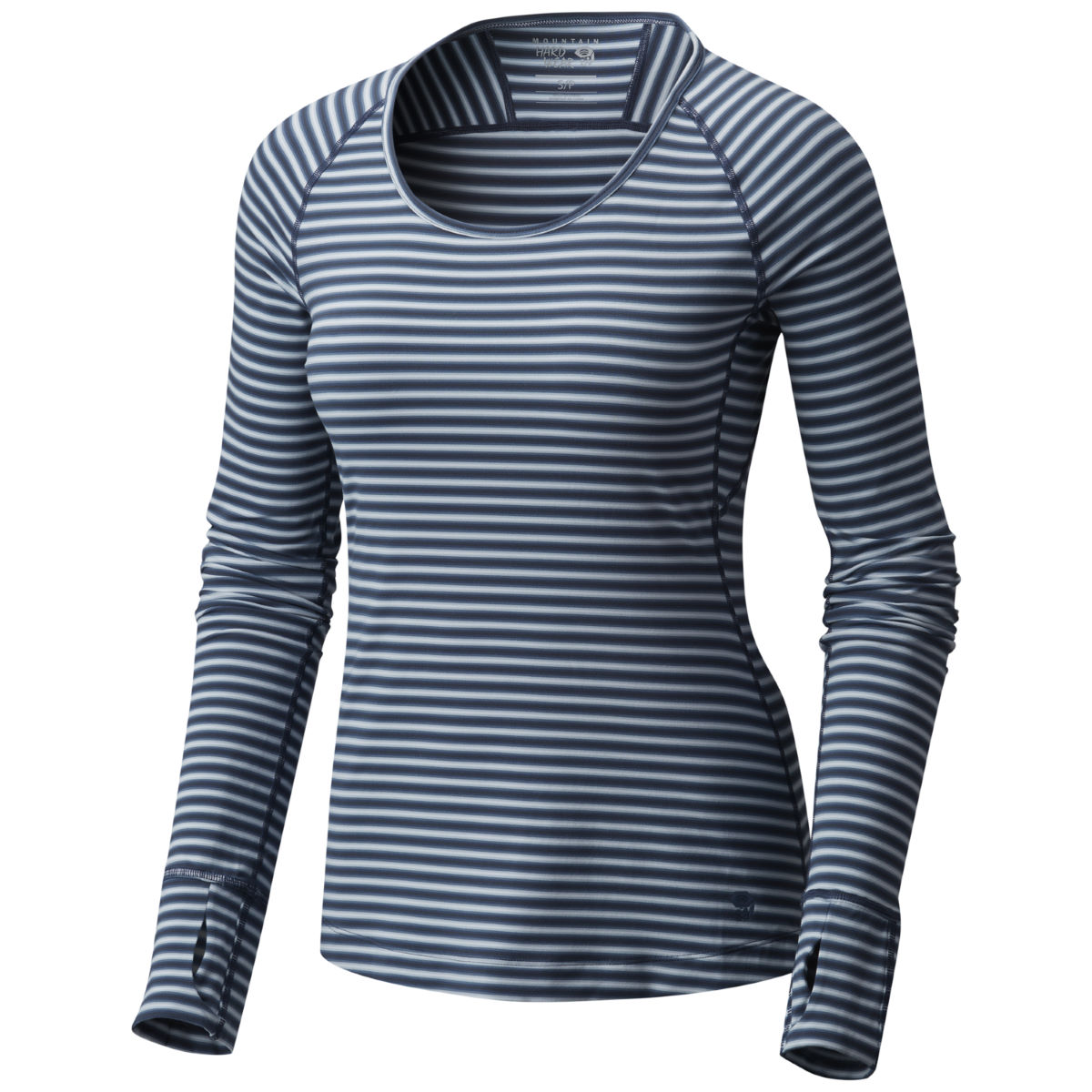 Mountain Hardwear Butterlicious Stripe Long Sleeve Crew - Camisetas interiores