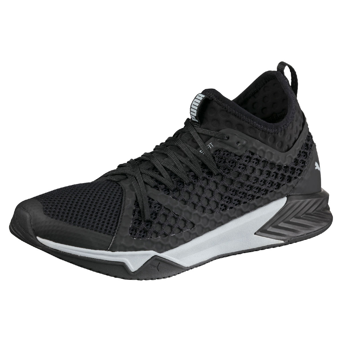 Puma Ignite XT Netfit Shoes - 8 Black | Training Running Shoes