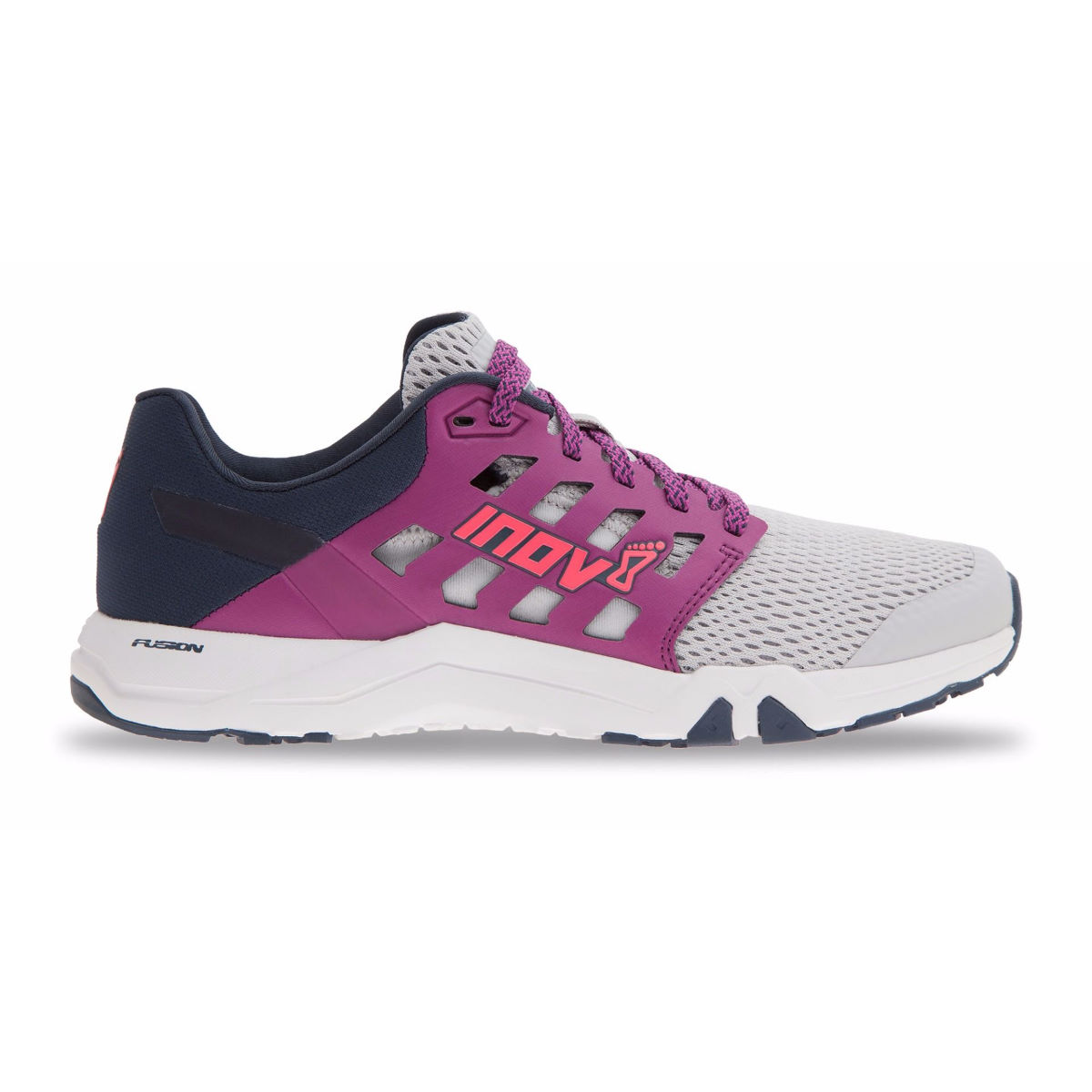 Chaussures Femme Inov-8 All Train 215 - UK 4 DARK GREY/PINK/BLACK