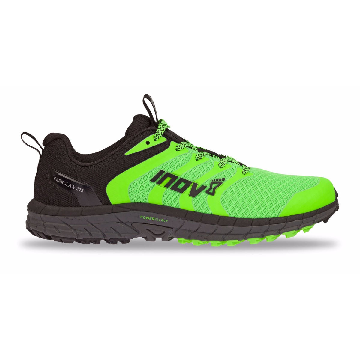 Chaussures Inov-8 Parkclaw 275 - UK 11 GREEN/BLACK