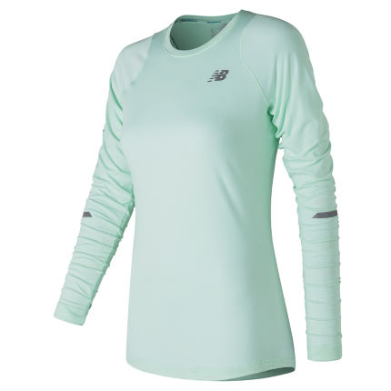 New Balance Women's Seasonless Long Sleeve Run Top