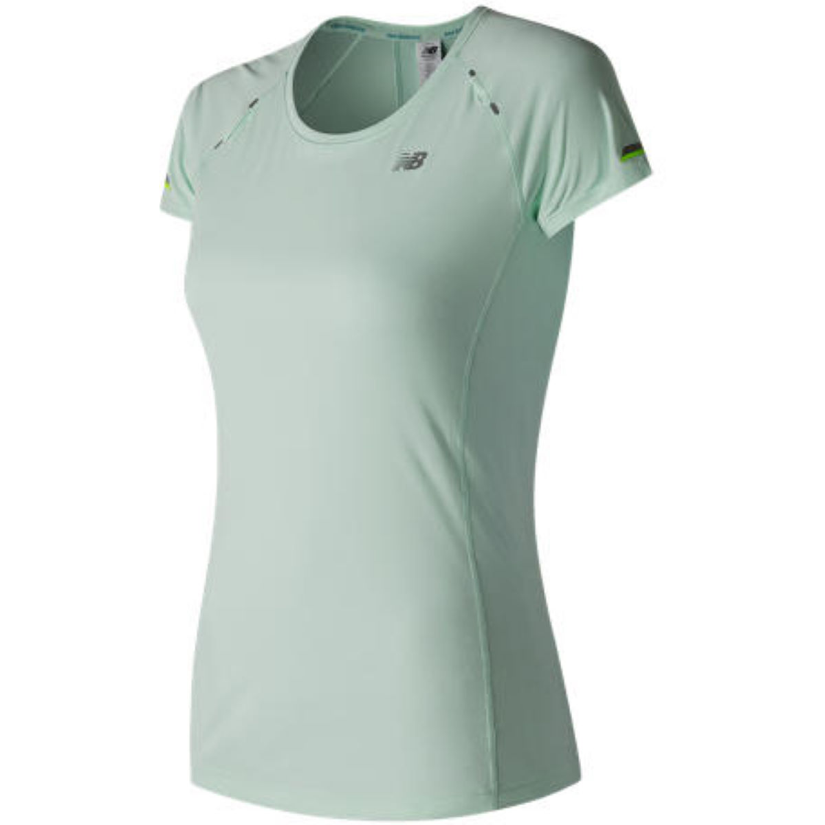 Maillot de running Femme New Balance Ice (manches courtes) - XS