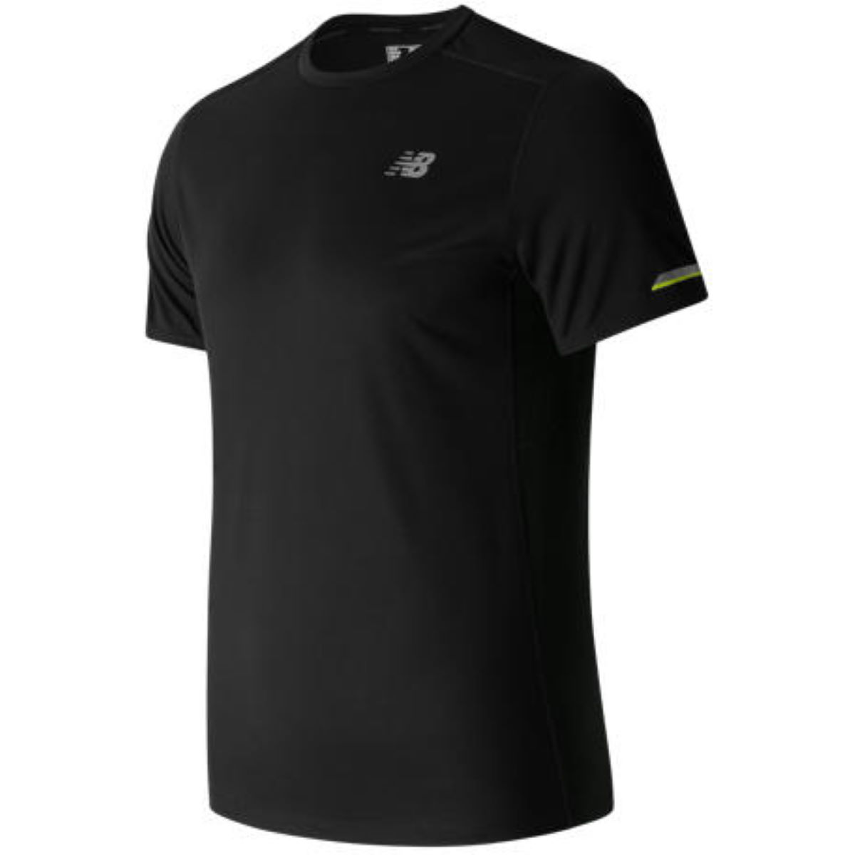 Maillot de running New Balance Ice (manches courtes) - S BLACK