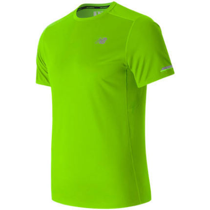 New Balance Ice Short Sleeve Run Top
