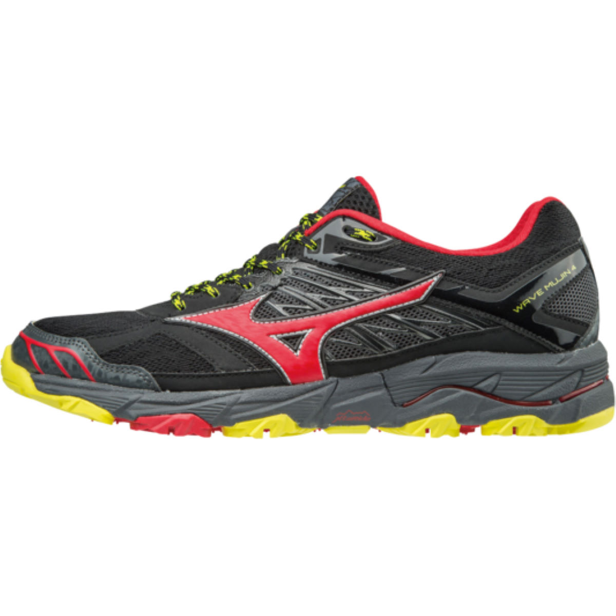 Chaussures Mizuno Wave Mujin 4 - UK 8 Black / Formula One