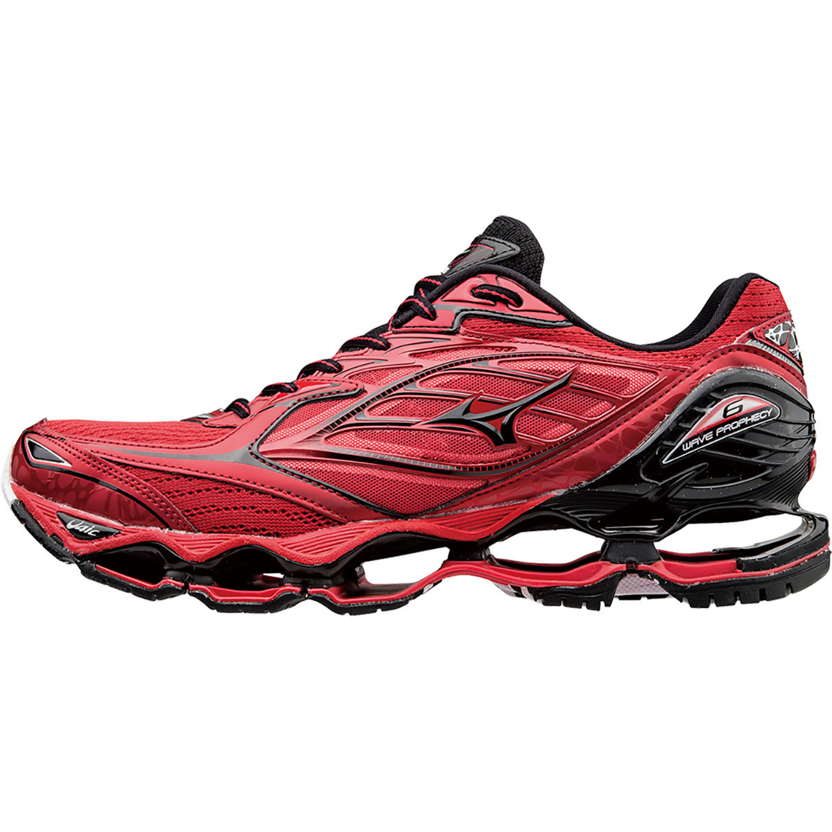 Mizuno Wave Prophacy 6 Shoes Red UK 7 - Polstrede løbesko