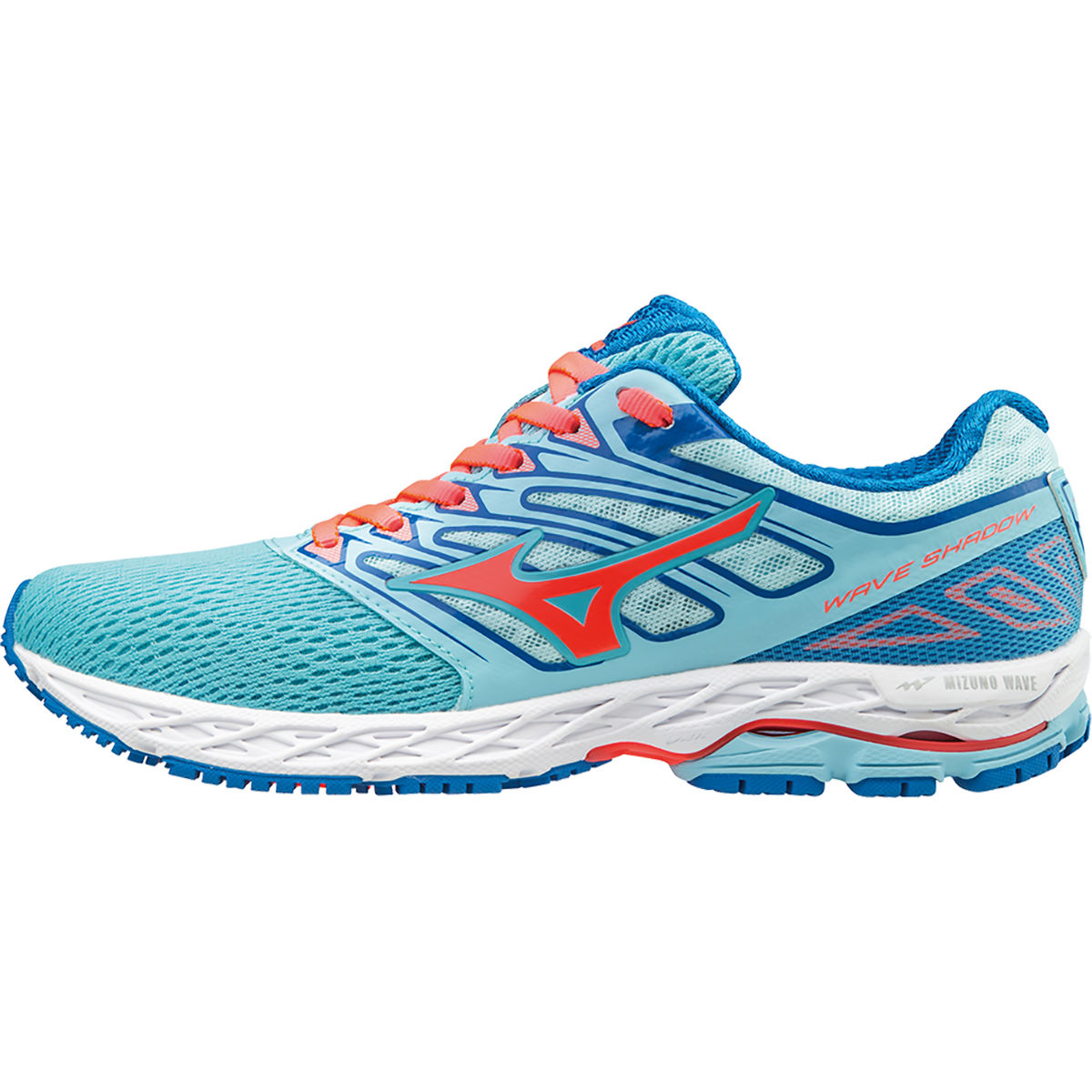 Chaussures Femme Mizuno Wave Shadow - UK 4 BlueTopaz/FieryCoral