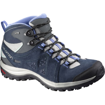 Salomon Ellipse 2 Mid LTR GTX® Women's Shoes Black/Blue UK