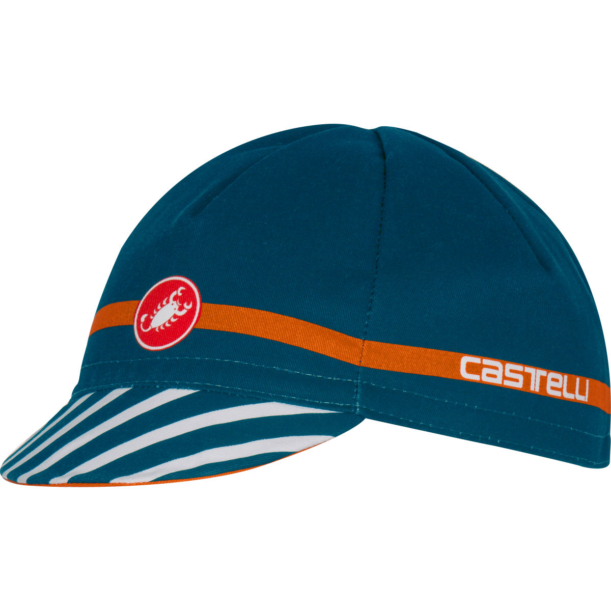 Casquette vélo Castelli Free - OS Midnight Navy/Orange
