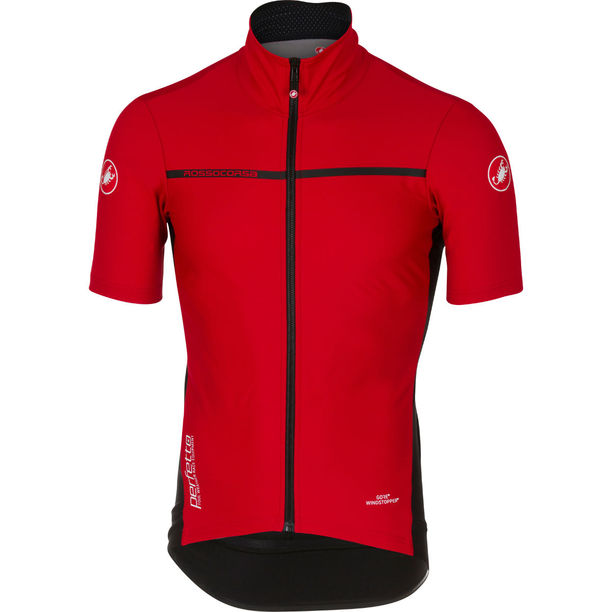 Maillot Castelli Perfetto Light 2 - M Rouge