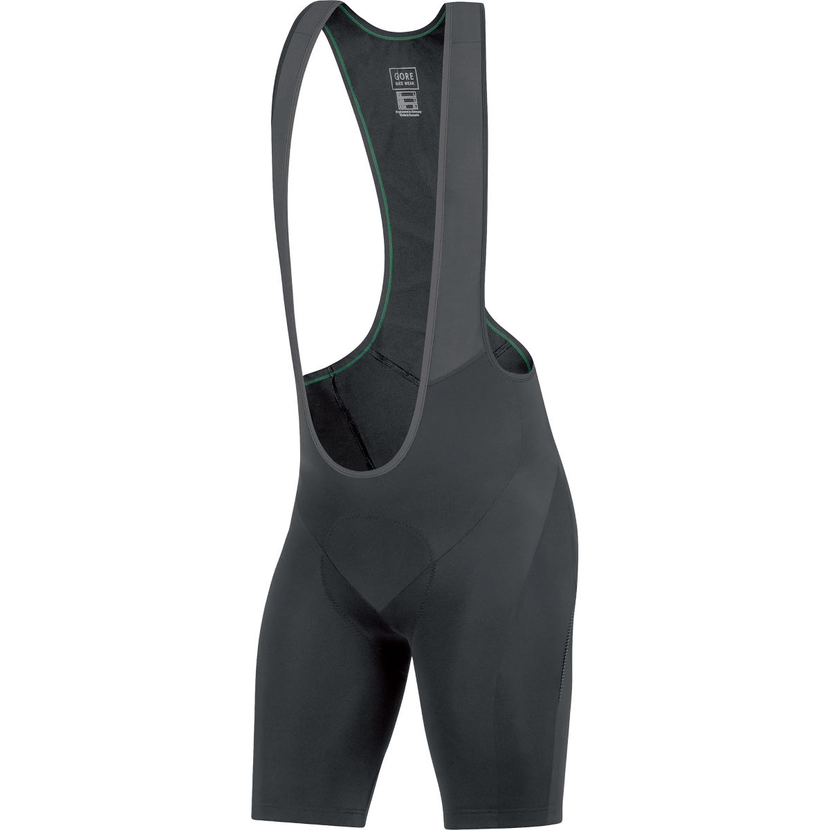 Cuissard court à bretelles Gore Bike Wear Element+ - M Noir/Noir Cuissards en lycra