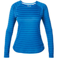 Berghaus Womens Striped Tech Long Sleeve T-Shirt