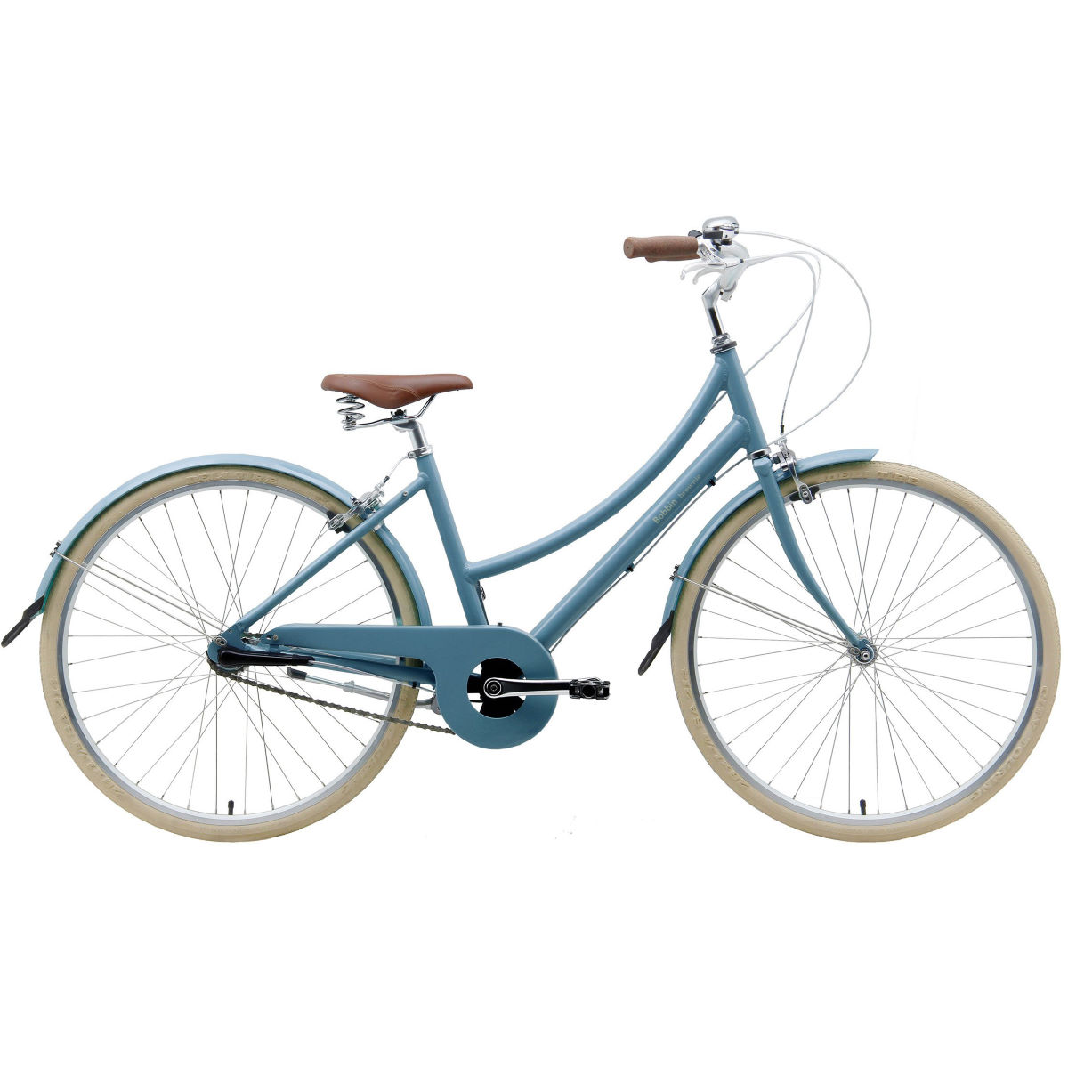 Vélo hybride Bobbin Brownie 3 (2017) - 52cm Stock Bike Moody Blue