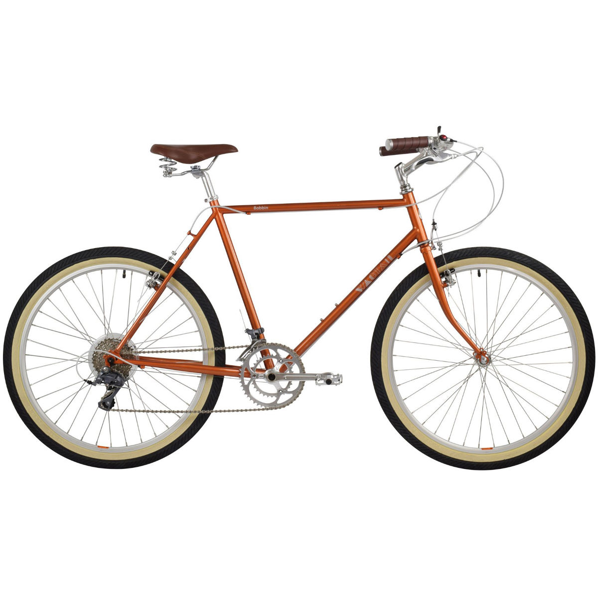 Vélo hybride Bobbin Wagtail (2017) - 46cm Stock Bike Copper