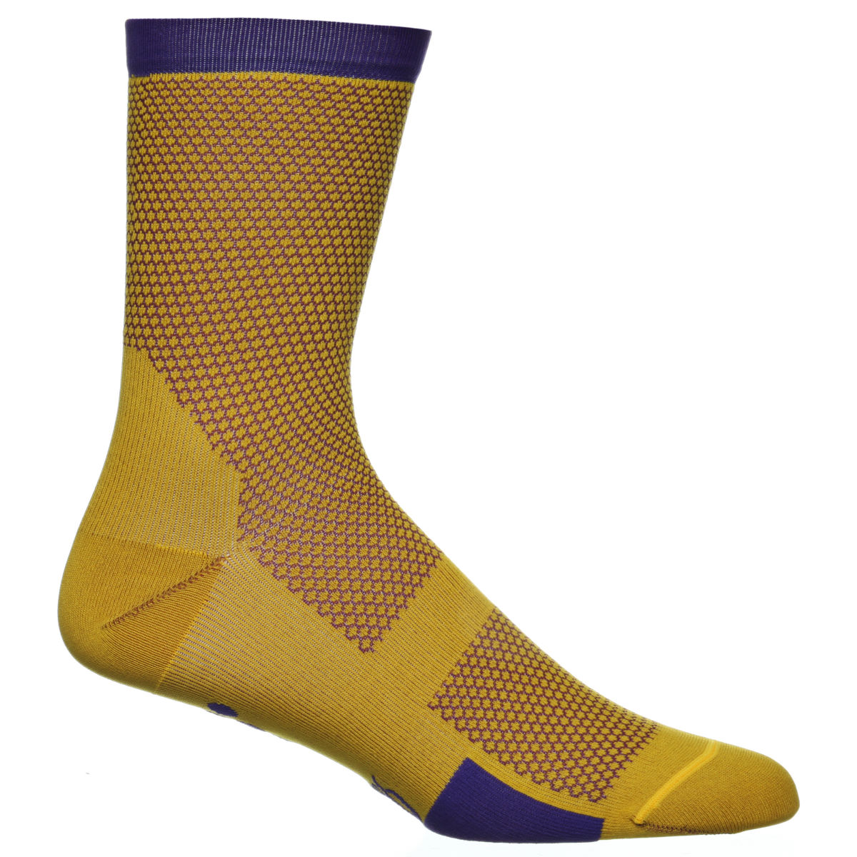 Chaussettes Isadore Mullholand Climbers - L/XL Yellow/Purple