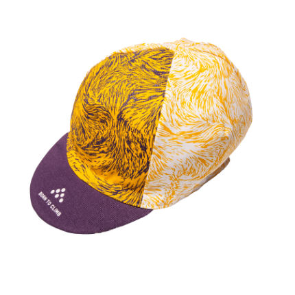 Isadore Mullholand Climbers Cap Yellow/Purple One Size