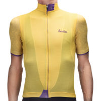Isadore Mullholand Climbers Jersey  Yellow/Purple S