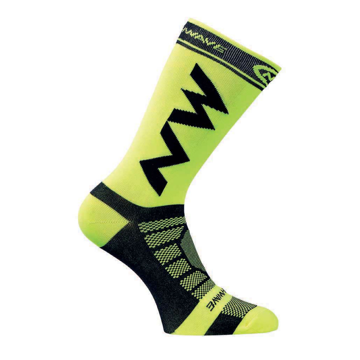 Chaussettes Northwave Extreme Light Pro - S Yellow Fluo/Black