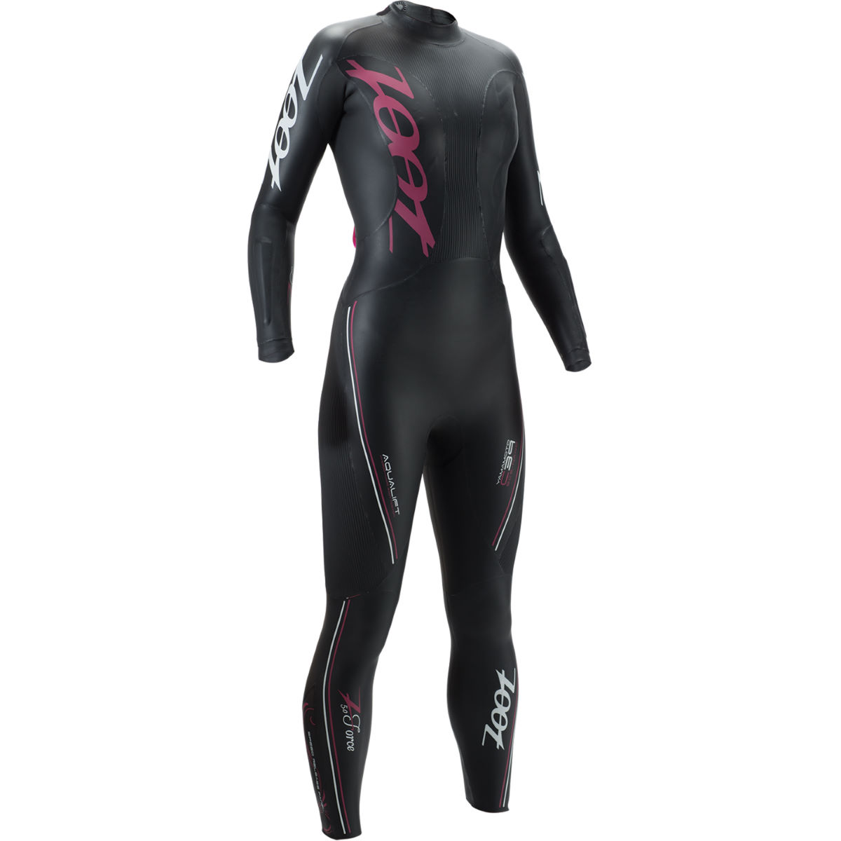 Combinaison Femme Zoot Z Force 5.0 - Extra Small Black/Beet