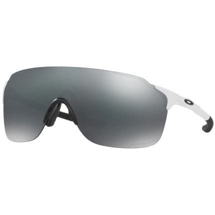 Oakley EV ZERO STRIDE Polished White  w/ Black Iridium