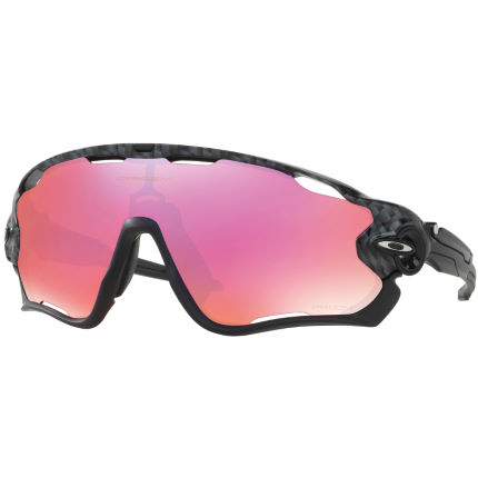 Oakley Jawbreaker Carbon Fiber w/ Prizm Trail Grey/Orange