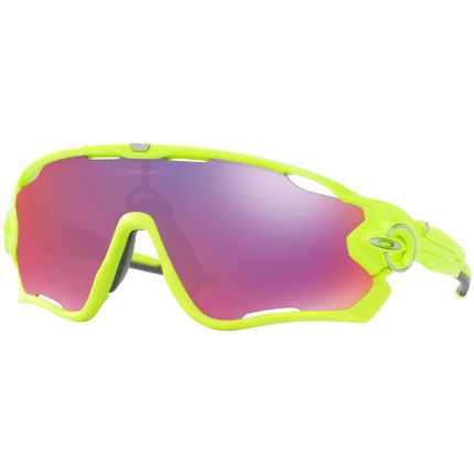 Oakley Jawbreaker Retina Burn w/ Prizm Road Yellow/Purple