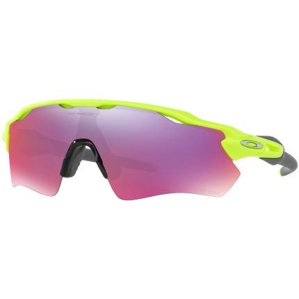 Oakley Radar EV Path Retina Burn w/ Prizm Road Yellow/Pur