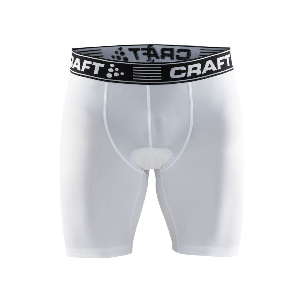 Boxer cycliste Craft Greatness - XS Blanc Vêtements de corps