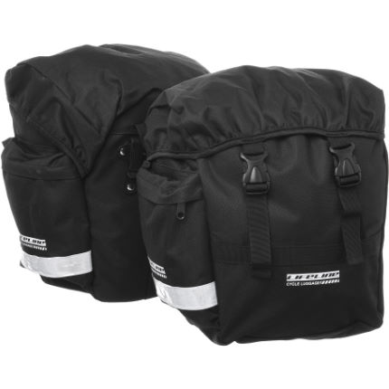 LifeLine Pannier Bags Pair Black One Size