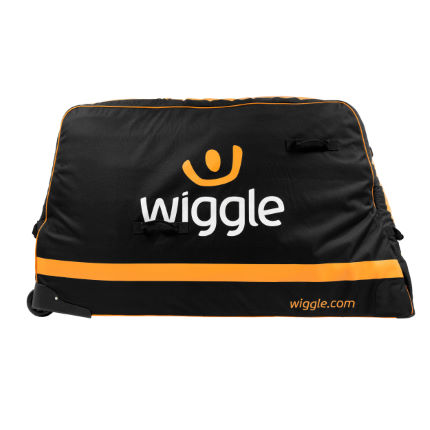 Wiggle Pro Bike Bag Black/Orange One Size