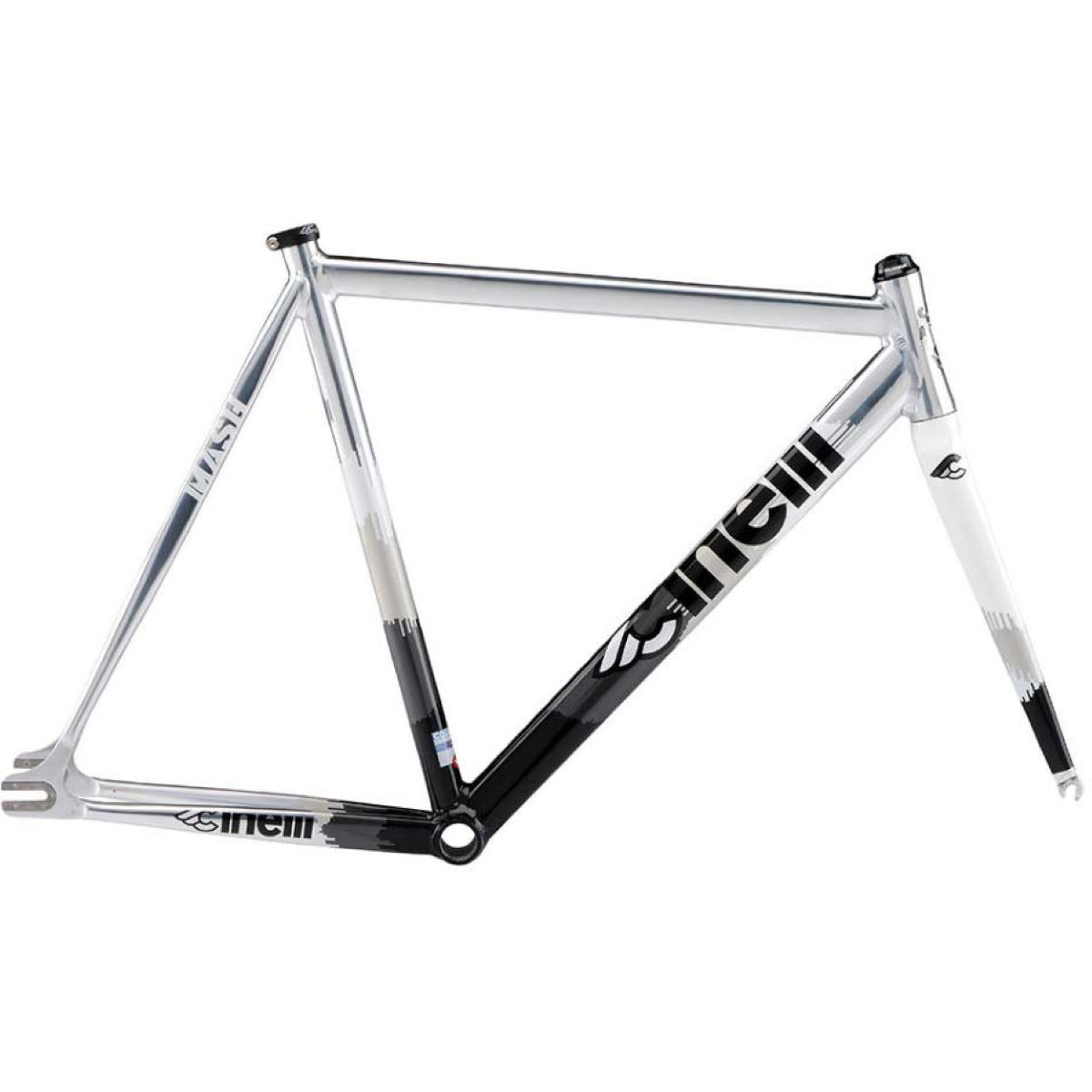 Cadre Cinelli MASH Histogram Metal - XL Stock Bike Metal Silver Cadres route