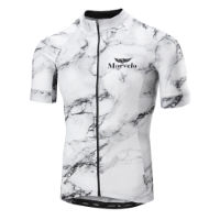 Morvelo White Marble Superlight Radtrikot