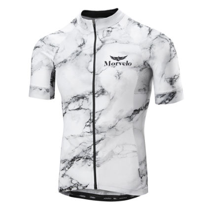 Morvelo White Marble Superlight Jersey