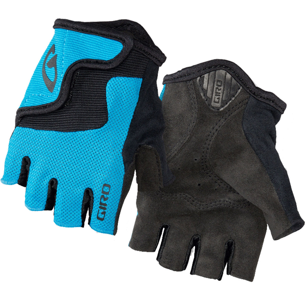 Gants courts Enfant Giro Bravo - 10-11 Years Blue Jewel Gants courts