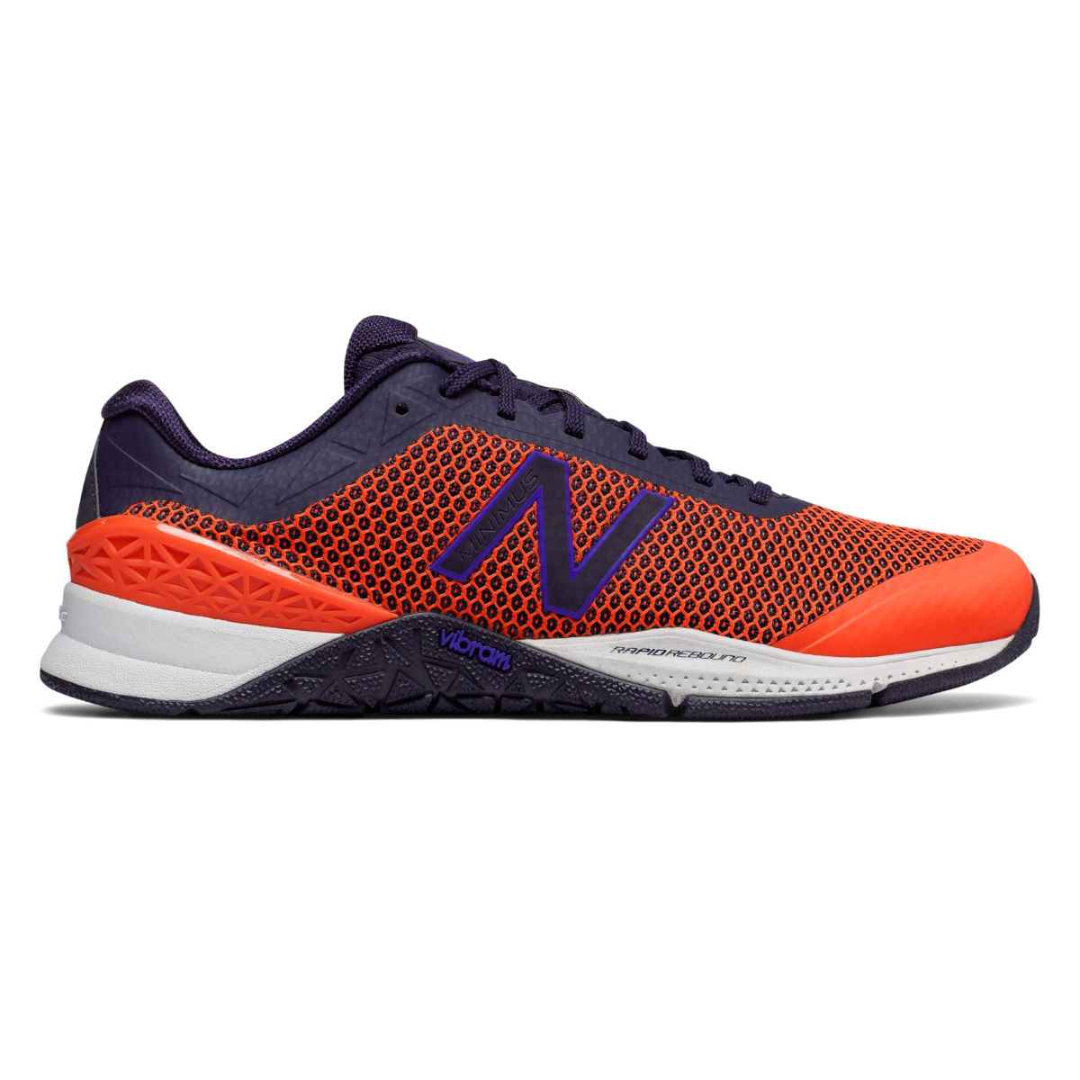 Chaussures New Balance MX40 v1 - UK 11 Orange/Blue Chaussures de gym