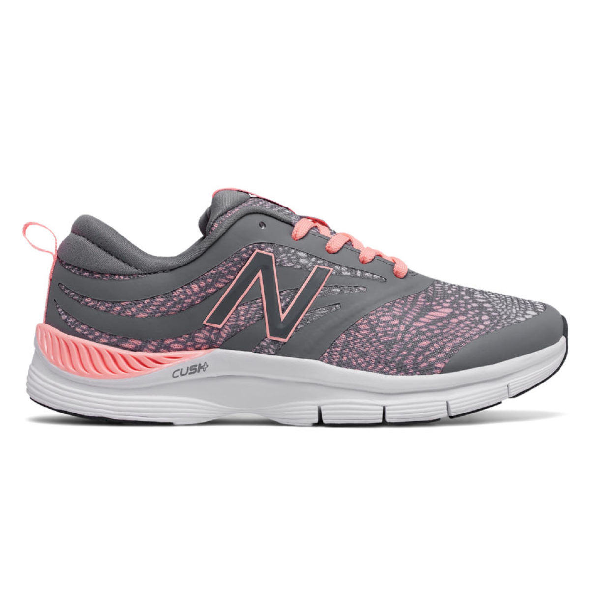 Chaussures Femme New Balance 713 - UK 8.5 Grey/Pink